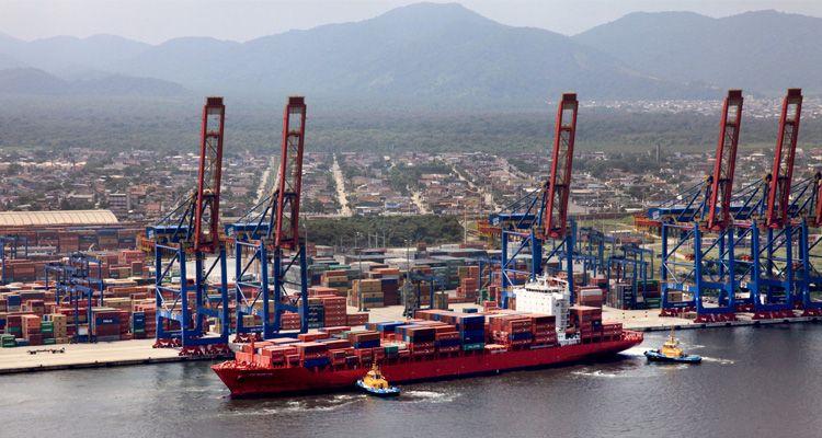 Resultado de imagem para porto de Santos