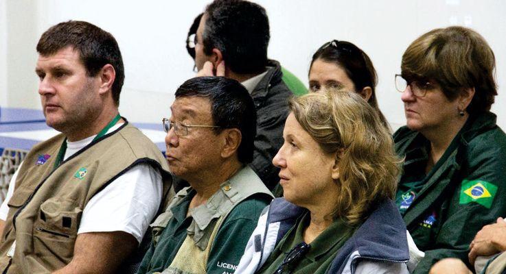 Técnicos do IBAMA acompanham atividade do Programa de Educação Ambiental